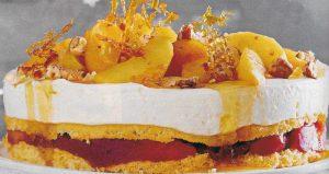 Apfel Glühwein Torte