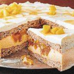 Apfel Mandel Torte mit Ahornsirup