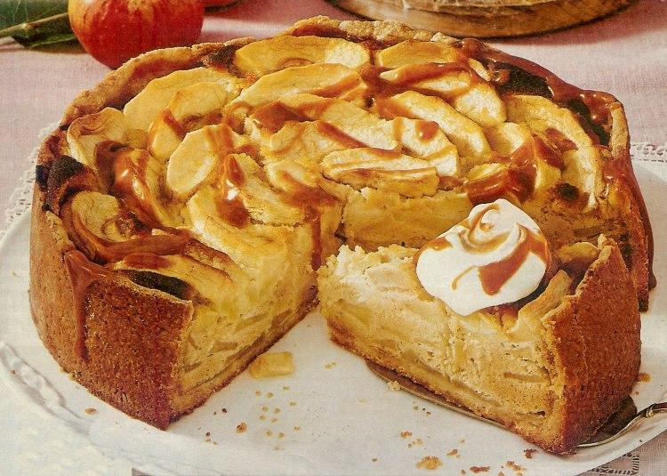Apfel Marzipan Kuchen Backraum24 Backrezepte Und Mehr