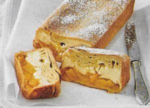 Aprikosen-Frischkäse-Kastenkuchen