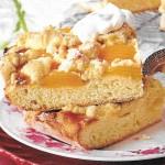 Aprikosen Macadamia Kuchen