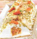 Aprikosen - Marzipan Rehrücken