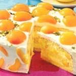 Aprikosen Prosecco Torte