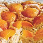 Versunkener Aprikosen Rührkuchen
