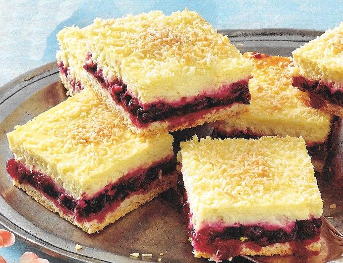 Beeren Kokos Kuchen Backraum24 Backrezepte Und Mehr