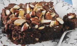 Birnen Brownies
