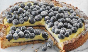 Blaubeerkuchen Vanillecreme