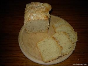 Fertiges Brot aufgeschnitten