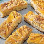 Buttermilchkuchen mit Mango