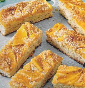 Buttermilchkuchen Mango