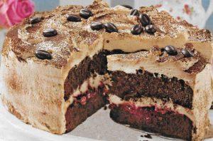 Cappuccino Schoko Torte