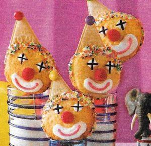 Clown Kekse