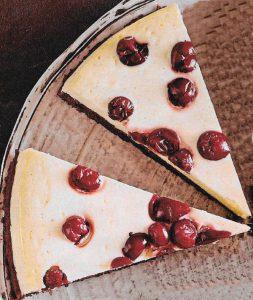 Cranberry Käsekuchen
