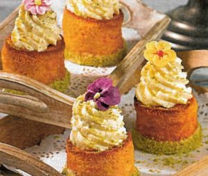 Cupcakes mit Karotten