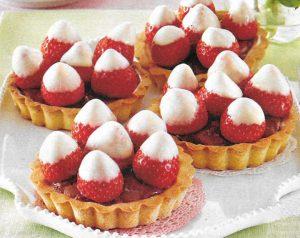 Erdbeer Schoko Tartelettes