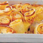 Gebackene Pfirsich-Crespelle