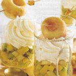 Hefekringel auf Früchten