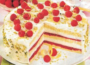 Joghurt-Himbeer Torte