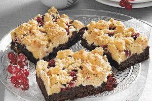 Johannisbeer Brownies