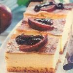 Käse Pflaumen Kuchen