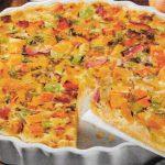 Warme Kürbis Tarte mit saftigen Birnen