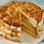 Karamell Zimtrollen Torte