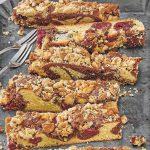 Kirsch Amaretto Streuselkuchen
