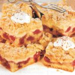 Kirsch-Streusel-Blechkuchen