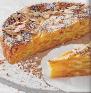 Mandel-Pfirsich-Kuchen