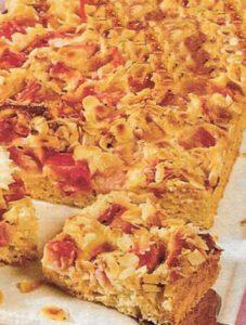 Mandel-Quark Blechkuchen