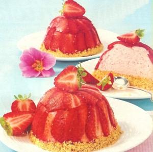Mini Erdbeer Charlottes