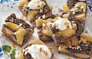 Mohn Birnen Kuchen