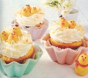 Muffin Küken Nester