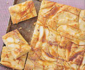 Nuss Birnen Kuchen
