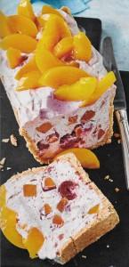 Pfirsich Kirsch Kastenkuchen