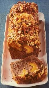 Pfirsichkuchen mit Knusper
