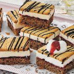 Preiselbeer Keks Kuchen