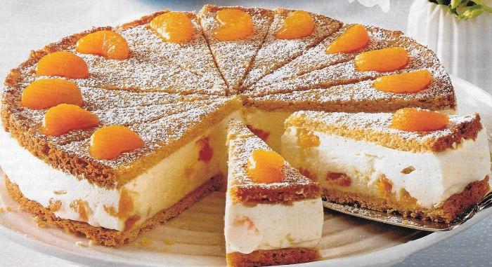 Quark Sahne Torte Backraum24 Backrezepte Und Mehr
