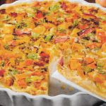Warme Quiche mit saftigen Birnen