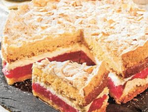 Sahne-Vanille Biskuit
