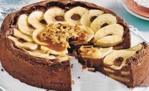 Schoko Apfelkuchen