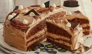Schoko Minz Torte