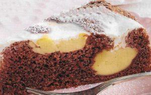 Schoko Pudding Kuchen