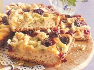 Stachelbeer Kirsch Kuchen