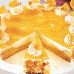 Vanillepudding-Orangen-Torte