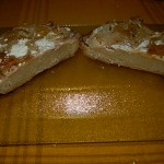 Brot geschnitten, ca. 4 cm hoch